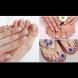 Модерни пролетни комбинации за маникюр и педикюр: Френски, едноцветни и с декорация (Снимки)