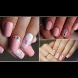 Пролет за ноктите! Прекрасни и нежни маникюри, които ще пожелаете веднага (Снимки)