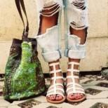Модерни гладиаторски сандали лято 2018