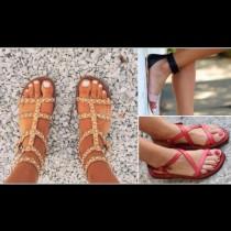 10 модела равни дамски сандали, които са хит за лятото на 2018 (Галерия)
