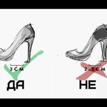 Как точно за 2 секунди да разберем, дали обувките ще ни убиват, още преди да сме ги обули