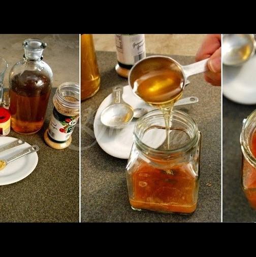 Тази зряла жена яде една супена лъжица мед и канела всяка сутрин-Резултатите са наистина невероятни!