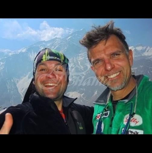 38d7c3c8897 Един от най-добрите му приятели-алпинисти с прощални думи към Боян Петров