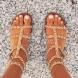 Модерни равни дамски сандали за лято 2018