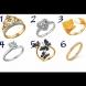 Този тест разкрива характера на жената: Изберете любимия си пръстен и научете нещо ново за себе си