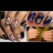 Прекрасни и женствени: Идеи за маникюр с монограм (Снимки)