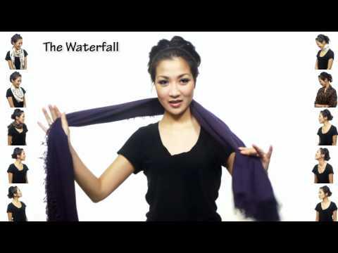 25 начина за носене на шал