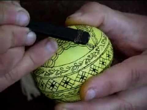 Как да украсим яйца за Великден