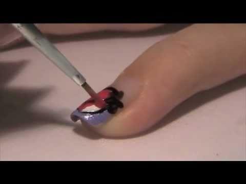 Как да си направим декораци за нокти ягодка
