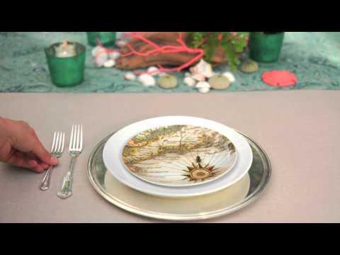 Как да аранжираме масата за парти с морска тема
