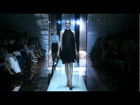 Gucci пролет лято 2012 модно шоу