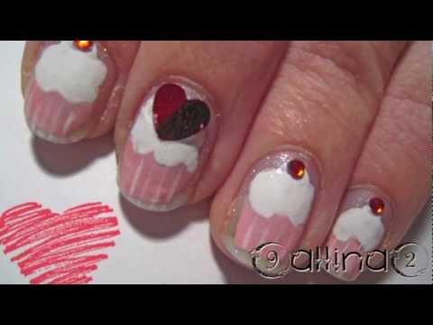 Как да си направим декорация за нокти с кексчета