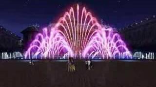 Музикален фонтан в Крайова