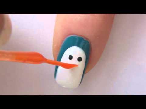 Как да си направим маникюр пингвин