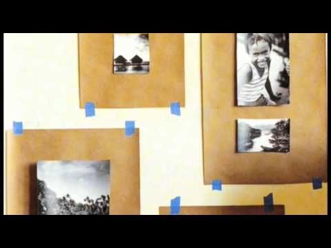 Как да си направим стена с фотографии