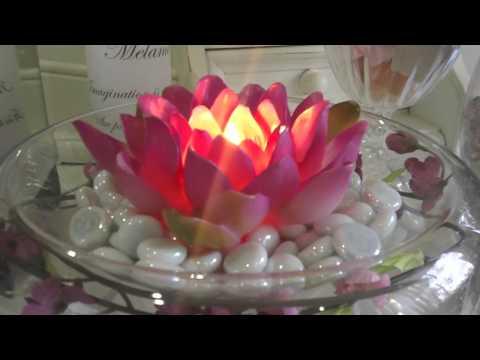 Как да си направим декорация с плаващи свещи