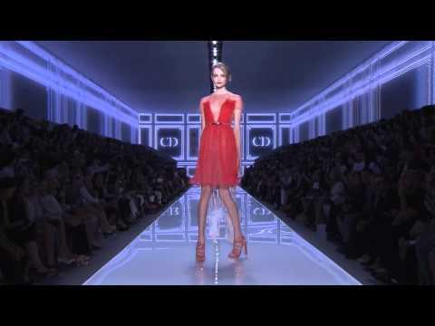 Christian Dior пролет лято 2012 модно ревю