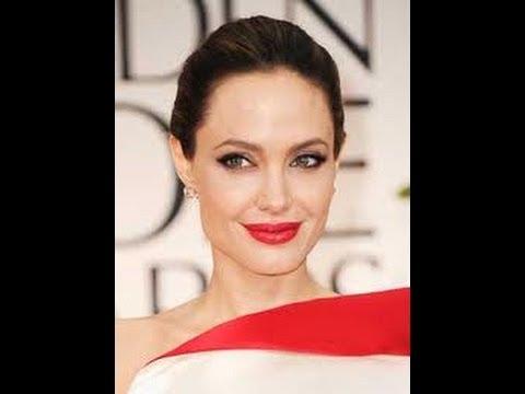 Направете си грим като Анджелина Джоли на Златни Глобуси 2012