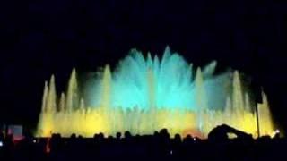 Магичният фонтан в Барселона