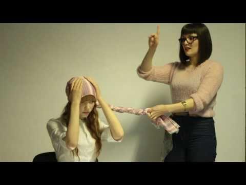 Как да вържем шал в красив екзотичен тюрбан