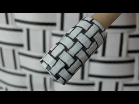 Как да си направим стилен маникюр пресечени нишки