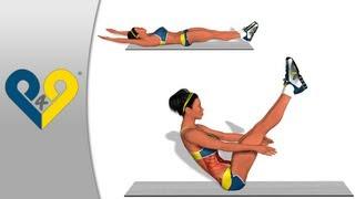 Най-добрите упражнения за коремните мускули