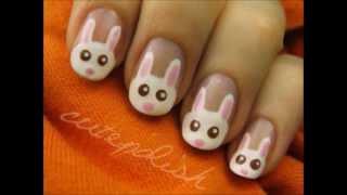 Как да си направим маникюр със сладки зайчета