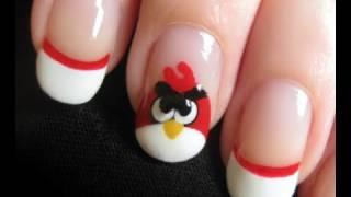 Как да си направим маникюр Angry Birds