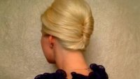Френски кок за къса и средно къса коса