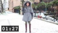 Как да бъдем женствени през зимата