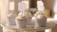 Как да украсим малки кексчета за бебешко парти