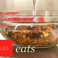 Кленов сироп и гранола рецепта
