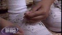 Как да научим децата да завръзват връзките на обувките си за 5 минути