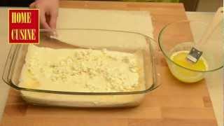 Млечна баница със сирене