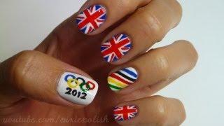 Олимпийски маникюр със знамена