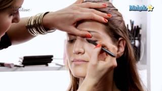 Как се прави опушено око