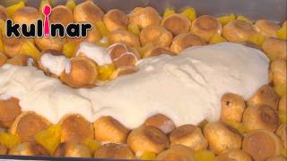 Рецепта за Еклерова торта с ананас