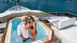 Видео Тур из супер луксозна мега яхта