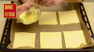 Пиле със спанак и сметана в бутер тесто
