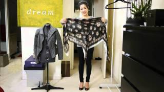 Идеи за носене на шал епизод 1