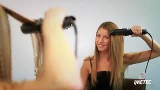 Как да си направим обем с преса за за коса