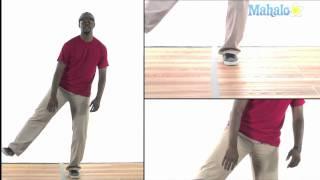 Хип хоп танци - как се прави стъпка Scoop Box Hop