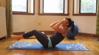 10-минути интензивни упражнения пилатес за корем