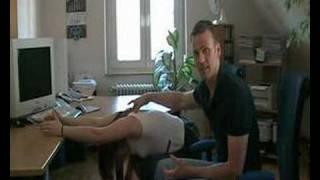 Офис серии-разтягане на гърба