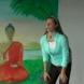 Йога упражнеиня поза Горила