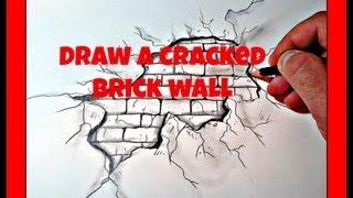 Как се рисува дупка в стена