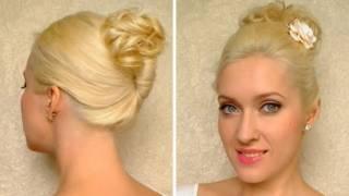 Лесни прически за работа с къдрава коса