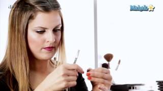 Как се слагат снопчета изкуствени мигли