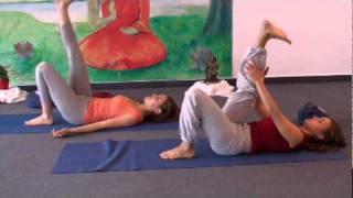 20 минутен урок по йога упражнения за гърба