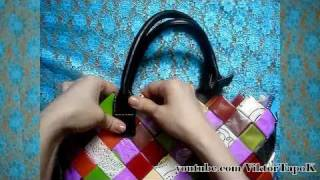 Как да си направя Чанта от опаковка на букети